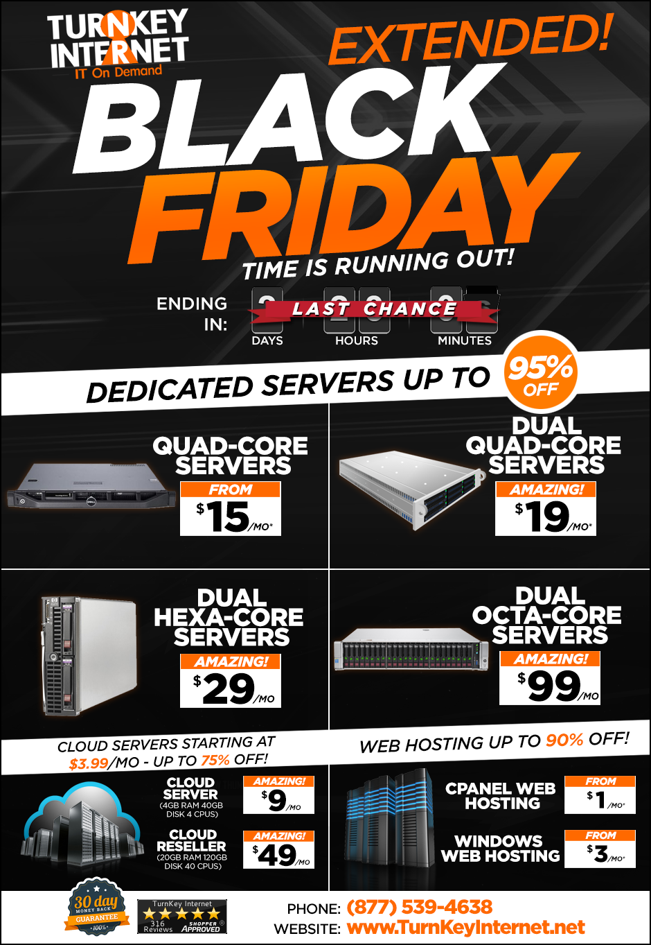 LAST CHANCE: TurnKey Internet Black Friday Deals!