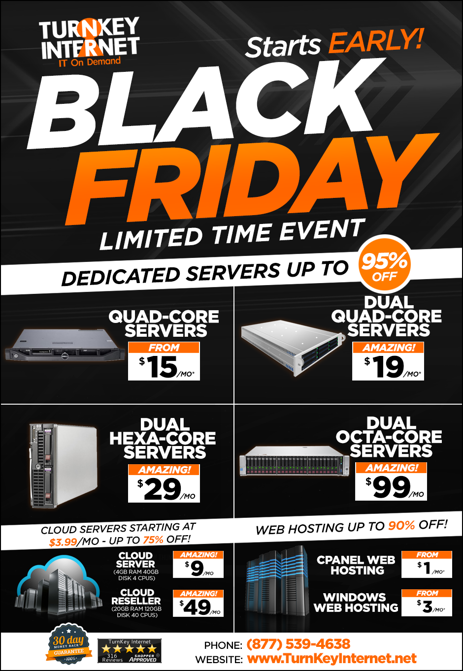 Black Friday Starts Early!