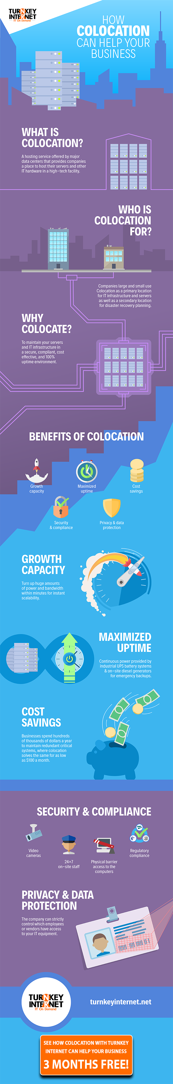 How Colocation Can Help Your Business (Infographic)