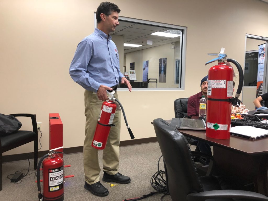Data Center Fire Prevention and Safety Training